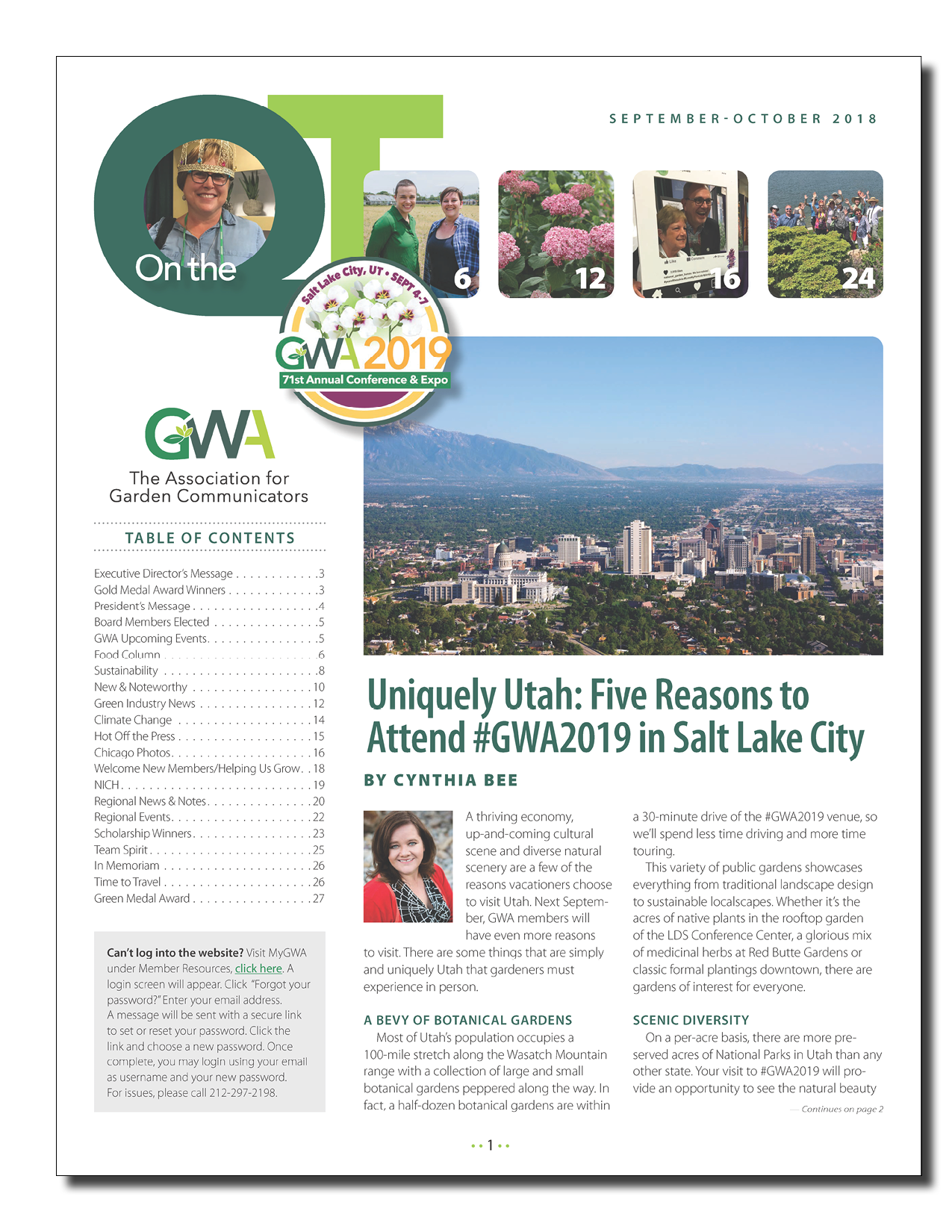 Uniquely Utah Five Reasons To Attend Gwa2019 In Salt Lake City